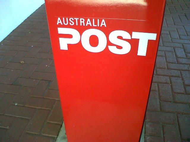 澳洲邮局,Àozhōu Yóujú, Australia Postoffice