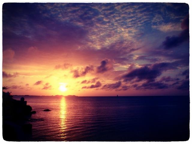 美丽的夕阳,měilì de xīyáng, beautiful sunset